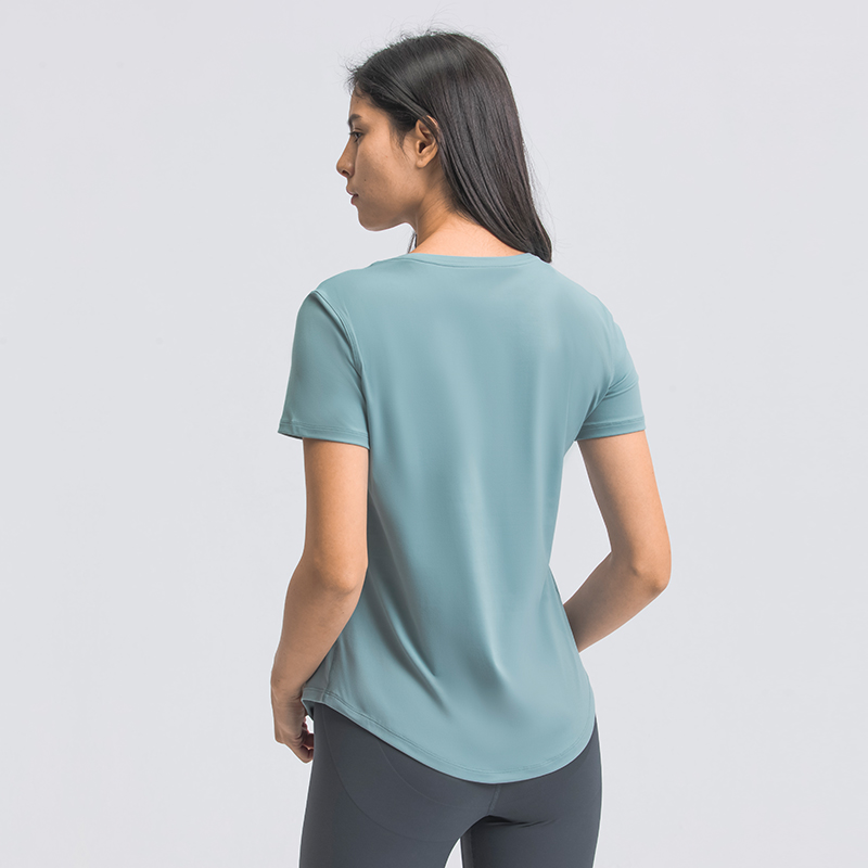 Loose Fit Short Sleeves Yoga T shirts