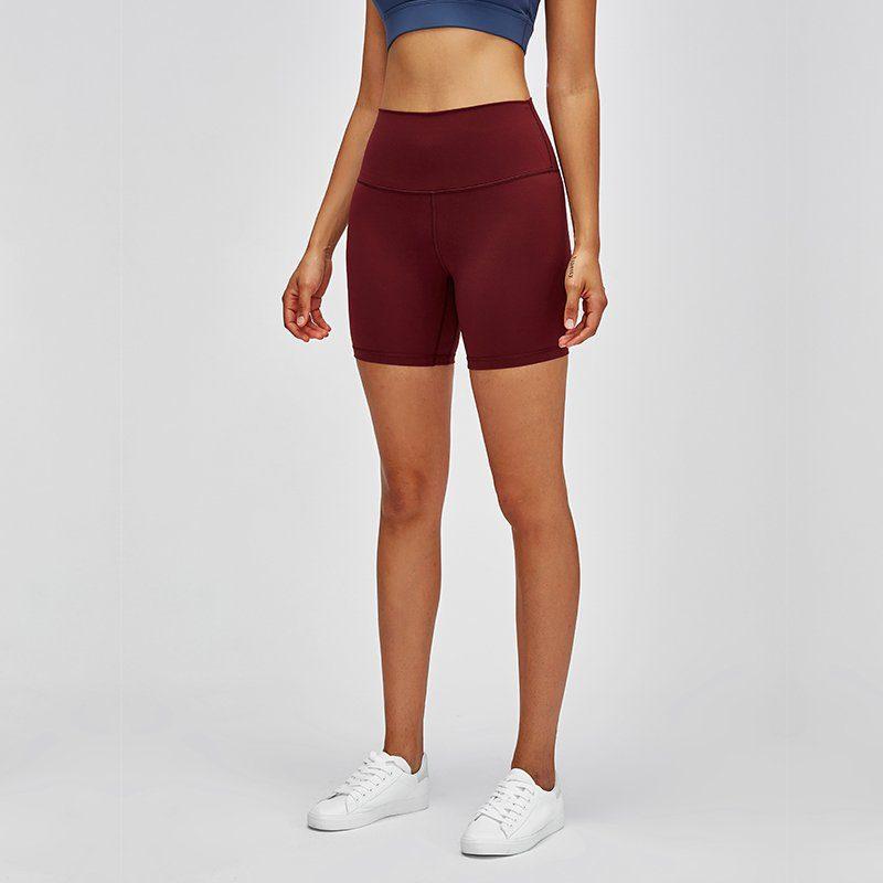 High Waist Yoga Shorts - Extreme Comfort