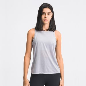 Workout Tank Tops with Bra model show