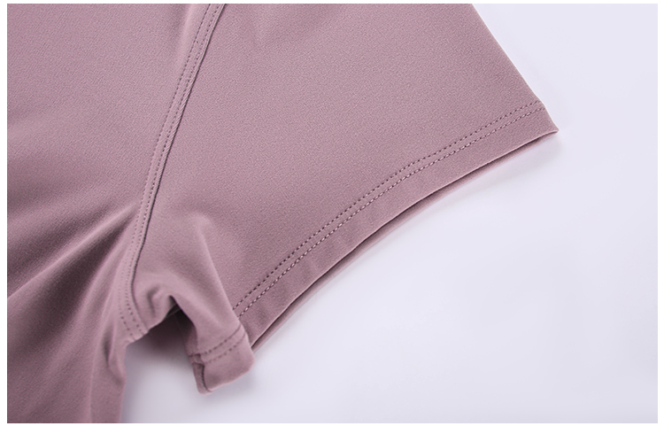 Basic-Short-Sleeve-Yoga-Tops detail
