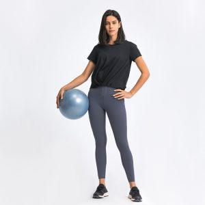 Basic-Short-Sleeve-Yoga-Tops main image