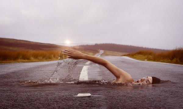 low impact workout - swimming
